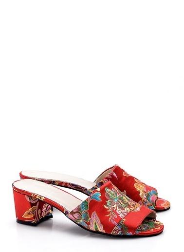Girl Boss Sandalet Kırmızı
